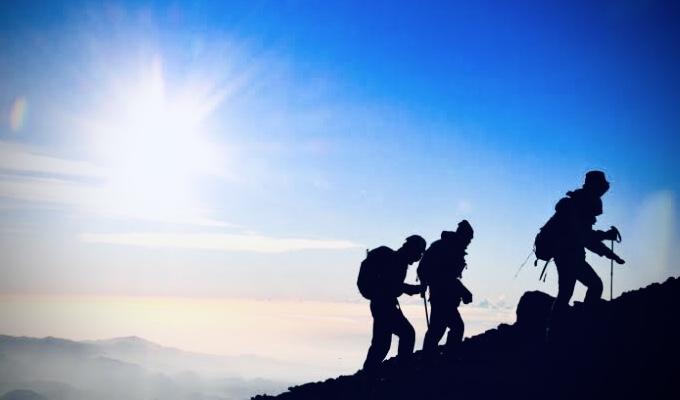 春が来たなら、山に登ろう