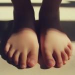 子供の足を見て下さい!①