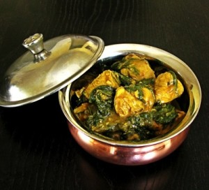 Chicken-Spinach-Curry